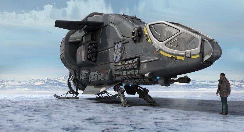 Die Drake Herald ist zwar ein Information Runner verfügt aber über eine komplette Ausrüstung zur Elektronischen Kriegsführung